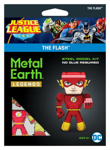 METAL EARTH LEGENDS JUSTICE LEAGUE THE FLASH