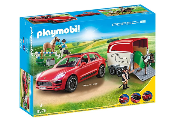 PLAYMB PORSCHE MACAN GTS WITH HORSE TRAILER