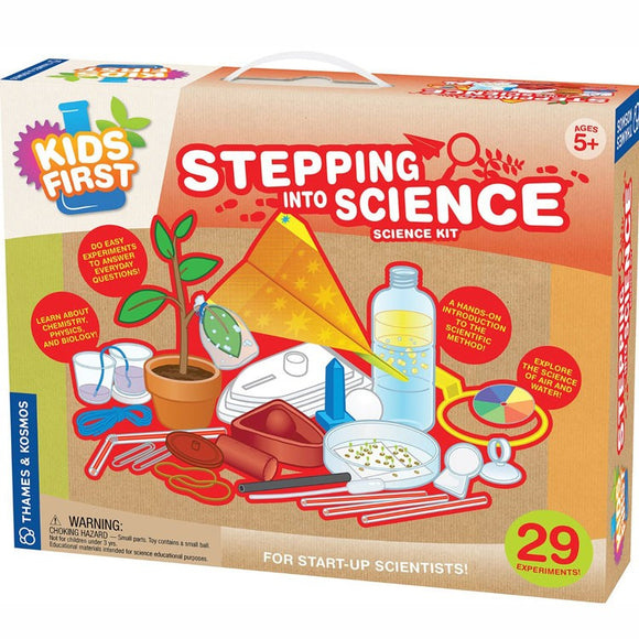 TK KIDS FIRST STEPPING INTO SCIENCE