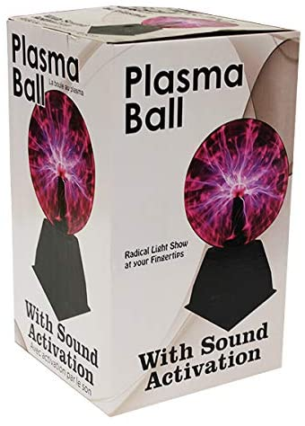 PLASMA BALL PURPLE 6