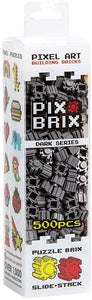 PIX BRIX 500PC DARK GREY