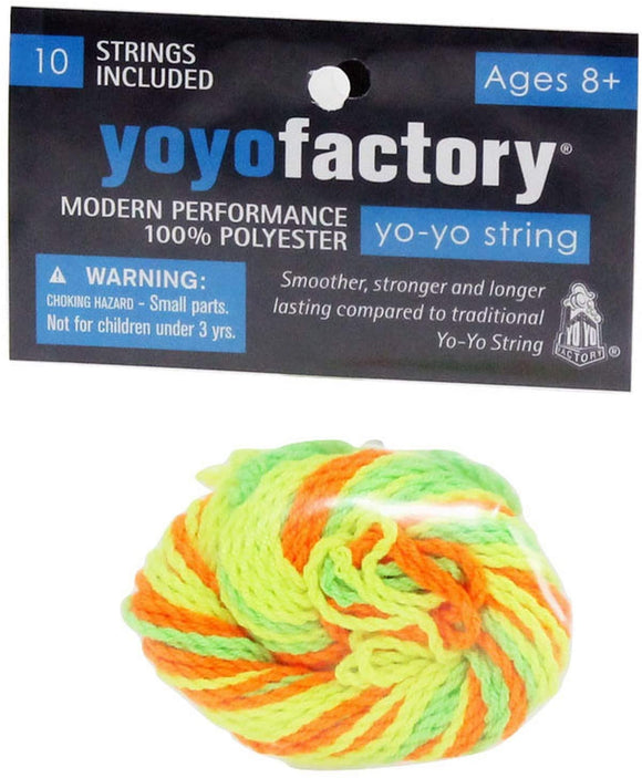YOYO FACTORY 10 PACK POLYESTER STRING