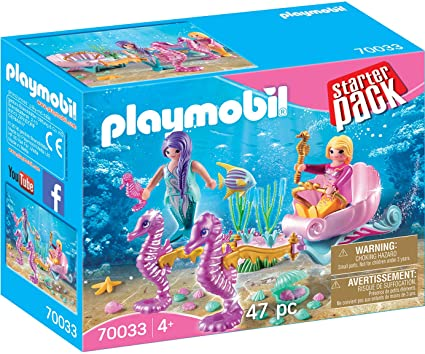 PLAYMB STARTER PACK SEAHORSE CARRIAGE