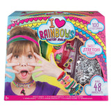 FA I HEART RAINBOWS STRETCHY JEWELRY KIT