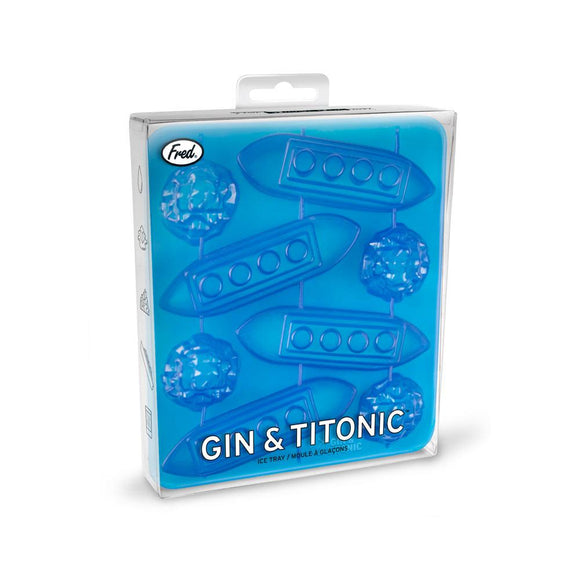 FRED ICE TRAY GIN AND TITONIC