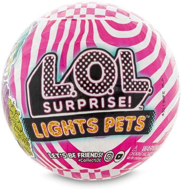 LOL SURPRISE DOLL LIGHTS PETS