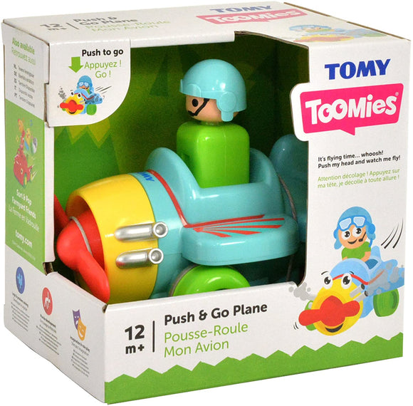 TOMY PUSH AND GO PLANE