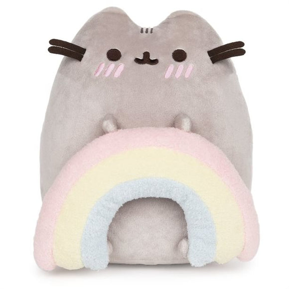 GUND PUSHEEN  RAINBOW PUSHEEN PLUSH 9.5