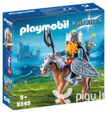 PLAYMB KNIGHTS DWARF FIGHTER WITH PONY