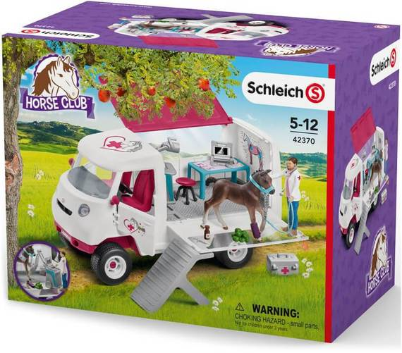 SCHLEICH HORSE CLUB MOBILE VET
