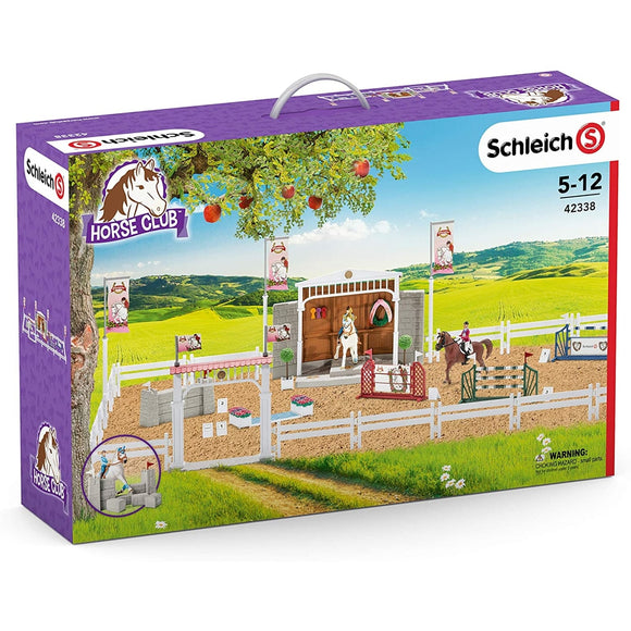 SCHLEICH HORSE CLUB BIG HORSE SHOW WITH RIDERS
