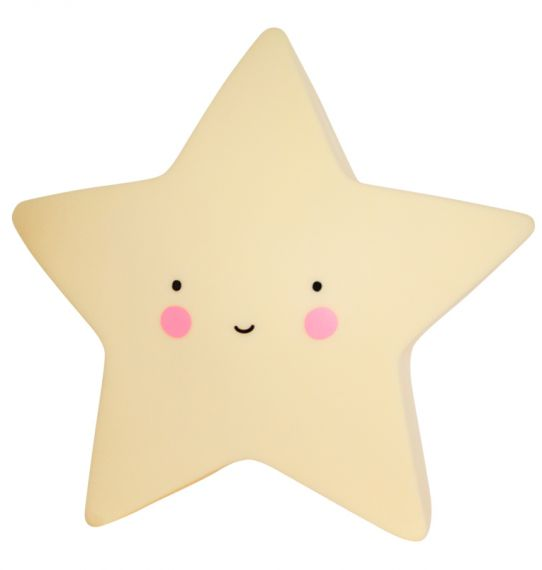 LITTLE LOVELY LIGHT MINI STAR YELLOW