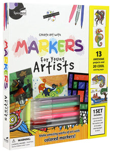 SPICEBOX MARKERS FOR YOUNG ARTISTS