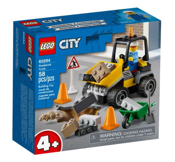 LEGO 4+ CITY ROADWORK TRUCK