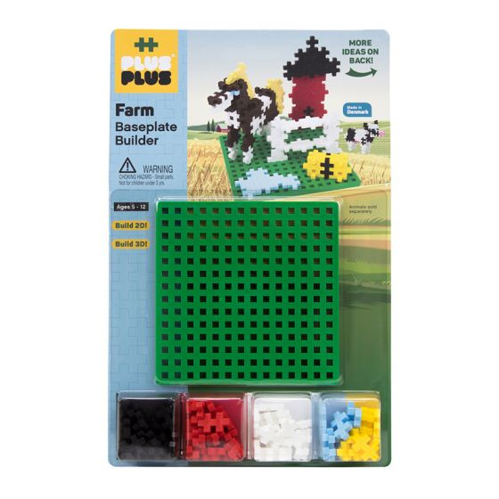 PLUS-PLUS FARM BUILDER WITH BASEPLATE