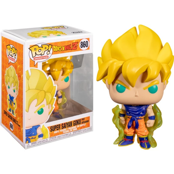 POP! DBZ SUPER SAIYAN GOKU (FIRST APPEARANCE)