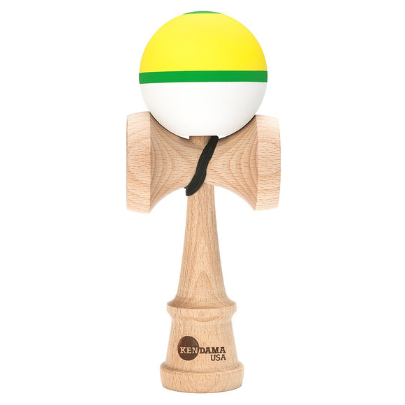 KENDAMA USA KAIZEN SHIFT HALO CITRUS YELLOW GREEN WHIST