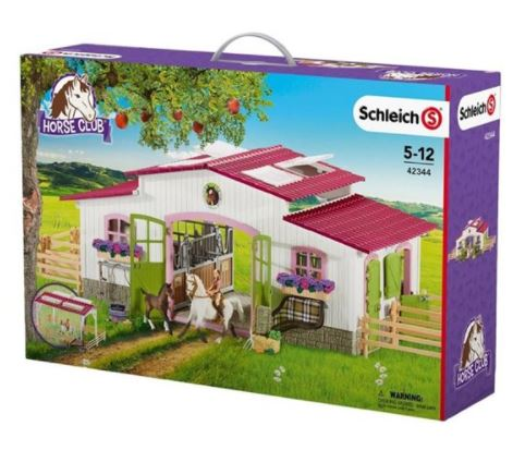 SCHLEICH FARM WORLD HORSE FARM W ACCESSORIES
