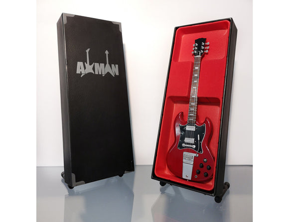 AM GUITAR AC/DC ANGUS YOUNG SG GIBSON STANDARD