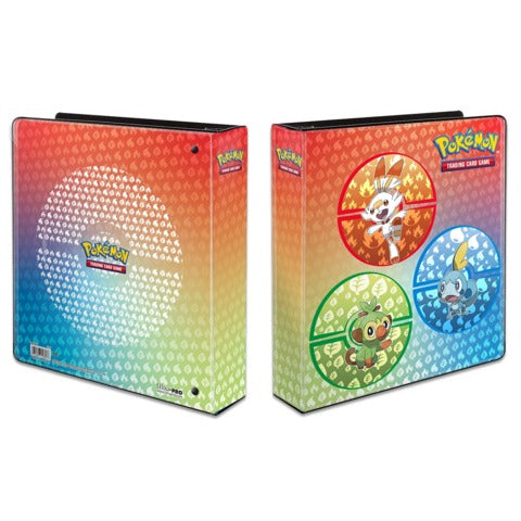 POKEMON STARTER SWORD AND SHIELD BINDER