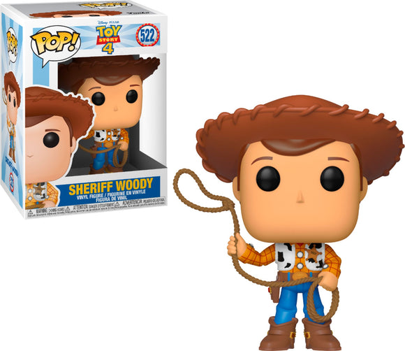 POP! DISNEY TOY STORY 4 WOODY