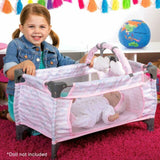 ADORA DELUXE PACK AND PLAY PINK