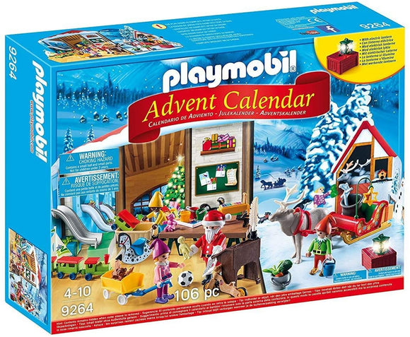 PLAYMB ADVENT CALENDAR SANTA'S WORKSHOP
