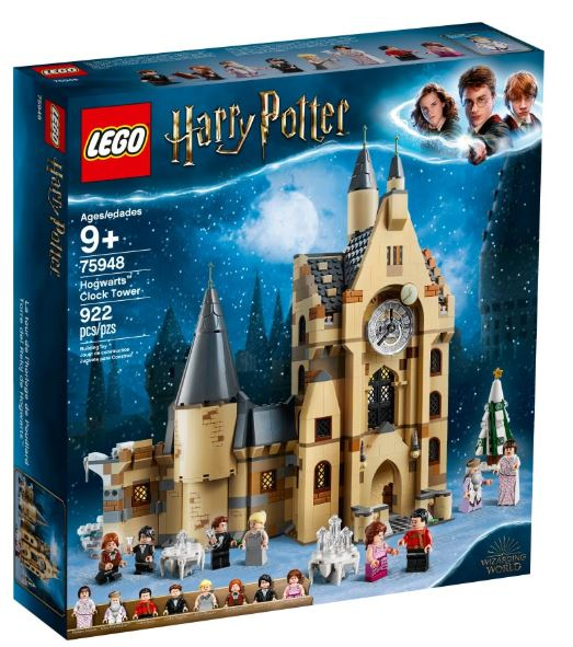 LEGO HP HOGWARTS CLOCK TOWER
