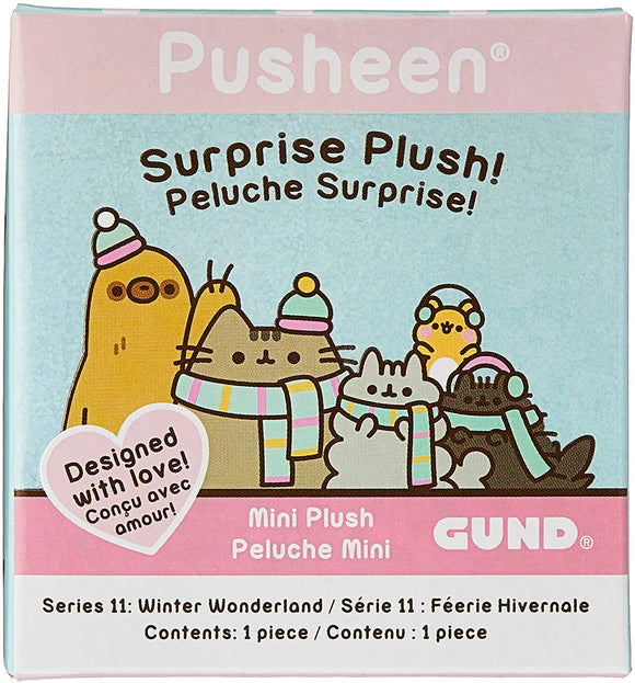 GUND PUSHEEN BLIND BOX SERIES 11 WINTER