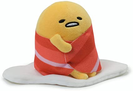GUND GUDETAMA BACON WRAP SITTING  4