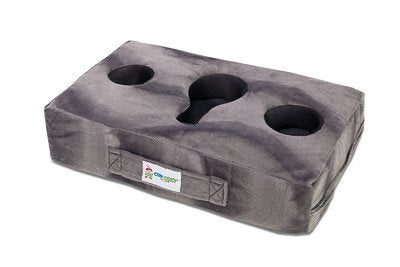 Cup Cozy Pillow (Gray) Keep your drinks close and prevent spills.