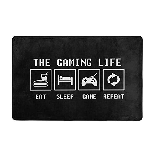 Jingclor The Gaming Life Area Rugs, Bedroom Living Room Kitchen Mat
