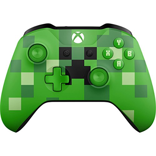 Microsoft Xbox Wireless Controller - Minecraft Creeper - Xbox One (Discontinued)