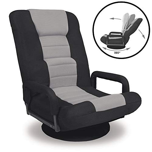 Best Choice Products Multipurpose 360-Degree Swivel Gaming Floor Chair