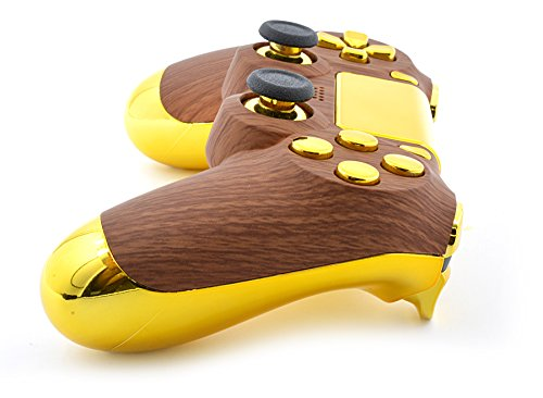 Golden Wood PS4 Custom Controller