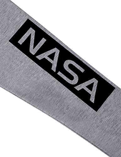 NASA Women Long Sleeve Crew Neck Shirt - Grey