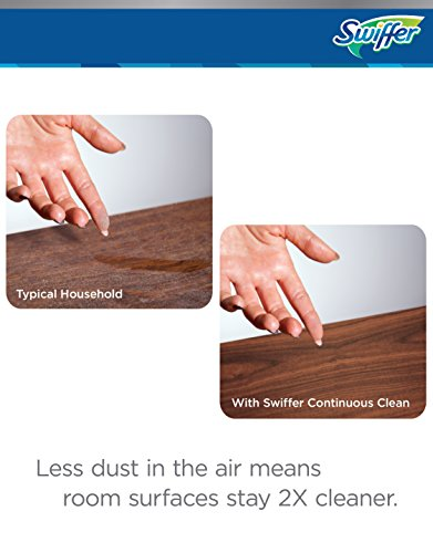 Swiffer Continuous Clean System Captures Dirt, Dust and Dander to Keep Room Surfaces Clean 2X Longer