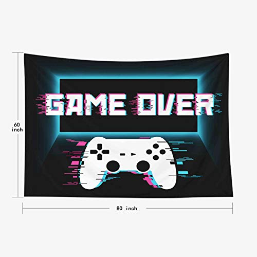 Crannel Gaming Wall Tapestry, Conceptual Abstraction Modern Controller