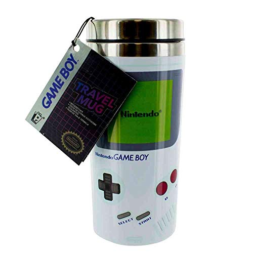 Paladone Nintendo Gameboy Travel Mug Coffee Mug 16oz