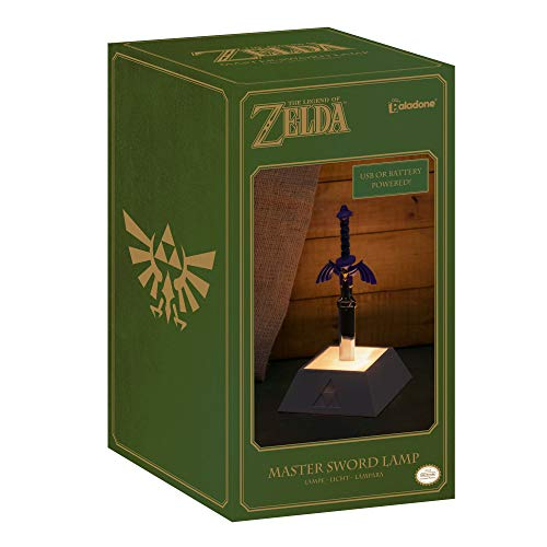 Paladone The Legend of Zelda Officially Licensed Merchandise - Master Sword Light