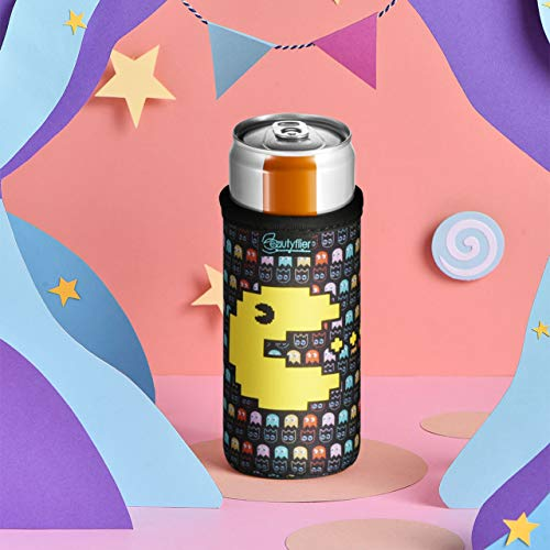 Beautyflier 12oz Slim Can Neoprene Bottle Insulator Sleeve Collapsible Drink Slim Can