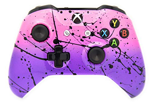 Pink & Purple Airbrushed Fade Xbox One Custom Controller Compatible with Xbox One