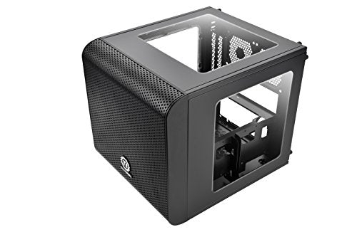 Thermaltake Core V1 SPCC Mini ITX Cube Gaming Computer Case Chassis