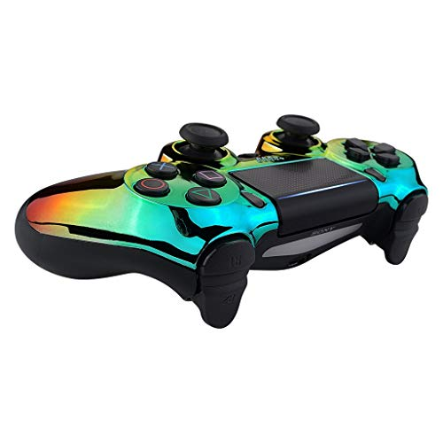PS4 Custom Rainbow Chrome Controller