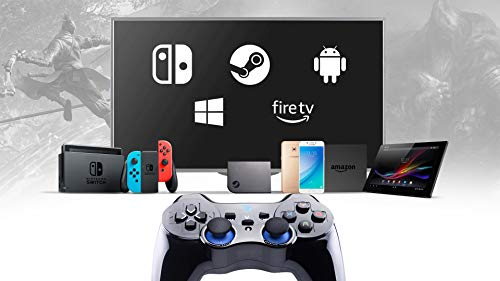 ZD-V+ [Bluetooth] Wireless Gaming Controller for Steam Nintendo Switch,Lapto/PC(Win7-Win10),Android Smartphone Tablet VR TV Box