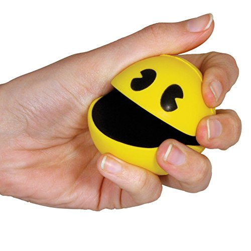 Pacman Stress Ball Squishy Squeeze Toy