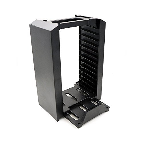 PS4 Multifunctional Game Disk Storage Tower Holder For Playstation 4 Console