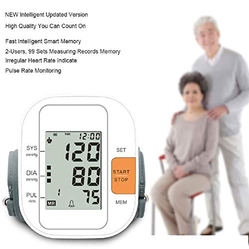 TaoQi Upper Arm Blood Pressure Monitor Upper Arm, FDA Approved Digital BP Machine