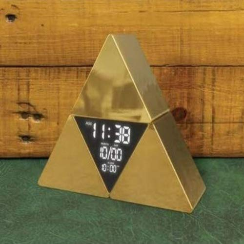 Paladone Legend of Zelda Officially Licensed Product - Triforce Alarm Clock