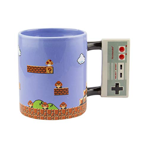 Paladone Nintendo NES Controller Shaped Oversided Mug
